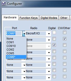 Configurer Hardware PortSelector