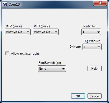 Configurer SetDialog DXP38