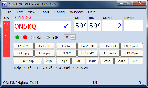 Entry GettingStartedExample SpotClickedQSO