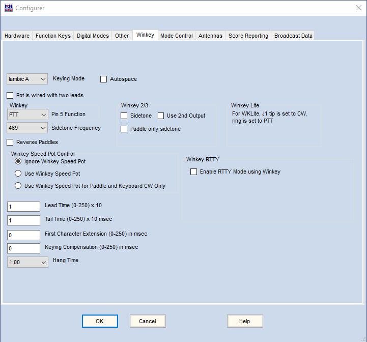 The Configurer – N1MM Logger Plus